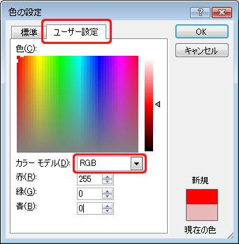 RGBカラーモデル2